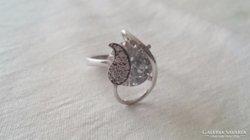 Szép cirkonköves ezüst gyűrű