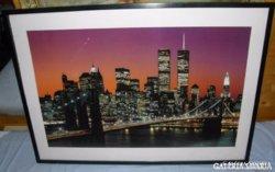 """New York City Este """"Üvegezett"""" Keretben"""