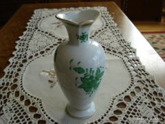 Herendi zöld Apponyi váza