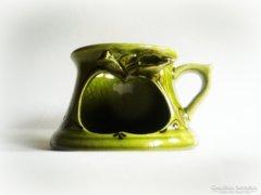 Art nouveau/szecessziós gyertyatartó