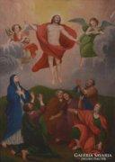 18. sz.-i ismeretlen festő: Krisztus mennybemenetele