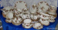 80éves Antik12 szem 130 db.komp. Royal Albert Angol porcelán
