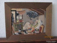 Gobelin / Goblein német festmény