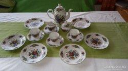 Bavaria porcelán reggeliző készlet