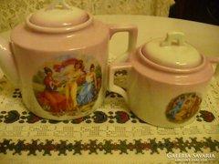 Antik ZSOLNAY porcelán kávés