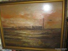 Szanthoffer Imre ( 60x80cm ) , festmény eladó