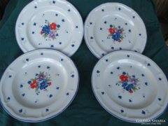 4 db lapos tányér 27,5 cm