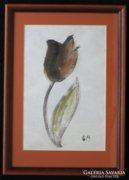 Borsos Miklós: Egy szál tulipán