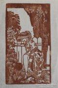 Tichy Gyula: Toilette-hiba, 1910-Szecessziós nőalak