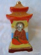 Régi Japán Satsuma porcelán lámpa.