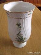 Hollóházi váza (Erika-mintás)