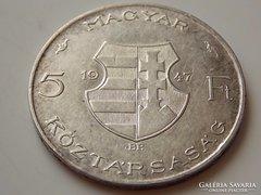1947. évi Kossuth 5 Forint F/VG 01.