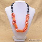 Narancssárga korall nyakèk