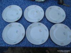 6 db tirschenreuther süteményes tányér