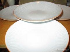 W002 4 db mintás   Jlmenau leveses tányér 23 cm