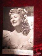 HONTHY HANNA atutográf fotója 1955 dedikált