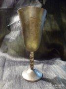 JUDAIKA talpas  vésett kidus pohár 16,5 cm