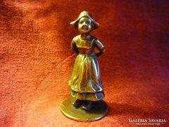 Bécsi bronz leány szobrocska 32890/1