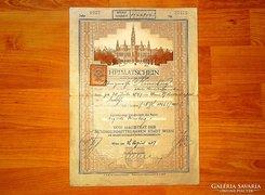 Állampolgársági Bizonyítvány 1937 (Heimatschein)