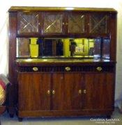 S592 Antik tálaló szekrény
