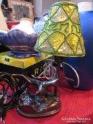Bronz madaras lámpa