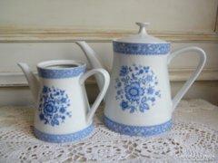 Porcelán teás és kávés kanna