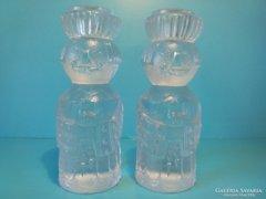 Üveg gyertyatartók  ROSENTHAL