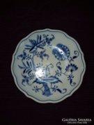 Antik Eichwald hagymamintás porcelán tálka