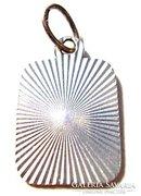 Modern fazonú medál 925 ezüstből