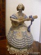 Herendi Porcelán - NAGY méretű Déryné ! - 36,5 cm magas !