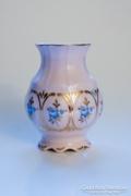 14K arany díszítésű Sonáta csehszlovák porcelán vázácska