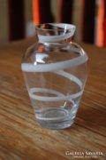 Üveg váza - kézi