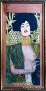 Dr.Hiszek Nándorné - Klimt, selyemakvarell