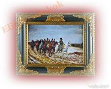 Napóleon és serege - gyönyörű festménykép vásznon
