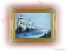 A flotta - gyönyörű festménykép vásznon
