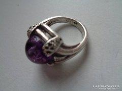 Régi ametiszt köves gyűrű !
