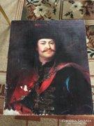 Mányoki Ádám II. Rákóczi Ferenc olajnyomat