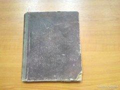 Régi kézirat 1848-1878 Versek a tartalomjegyzék szerint.