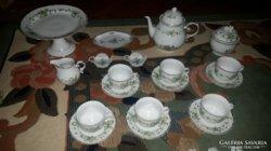 Hollóházi Erika mintás exkluzív teás készlet (29 darabos)