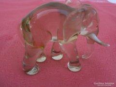 Mini üveg elefánt gyűjteményből!