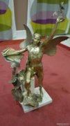 Ikarosz bronz szobor 58 cm-es