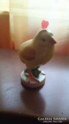 Herendi porcelán madárka 1940-50-es évekből - 10 cm