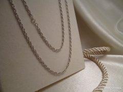 Régebbi ezüst nyaklánc - hosszú