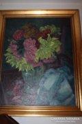 Virágos csendélet a 40-es évekből eladó