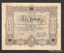 10 forint 1848. (VF+)!!!  NAGYON SZÉP!!!