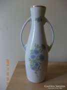 Virágos nagy füles váza