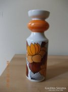 Őszivirág mintás váza