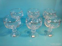 BOHEMIA kristály pohár készlet