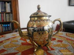 Díszes török réz teáskanna