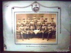 Katonai szolgálati emlék 1880. Csoportkép